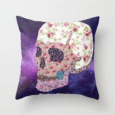Liberty Skull Throw Pillow