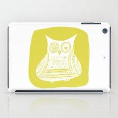 Hoot 3 iPad Case