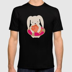 Beach Bunny Mens Fitted Tee Black SMALL