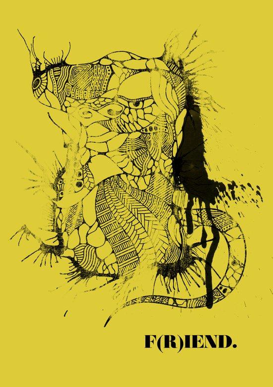 F(R)IEND Art Print