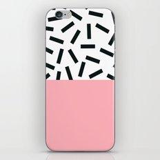 Memphis pattern 20 iPhone & iPod Skin