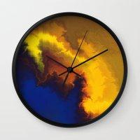 Mystical Movement Wall Clock