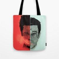 Tyler Durden V. The Narr… Tote Bag