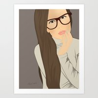 Eva From Instagram Art Print