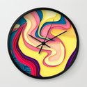 I Dream in Colors Wall Clock