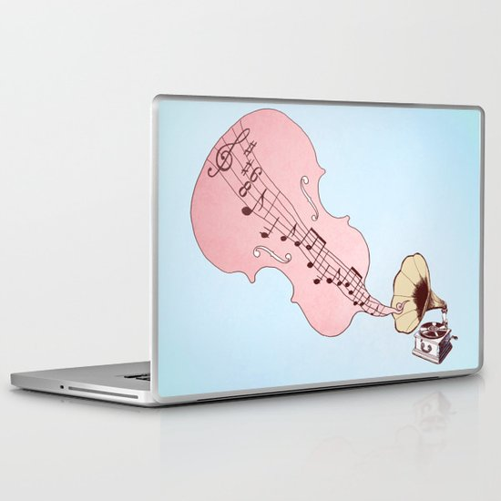 musical moment II  Laptop & iPad Skin