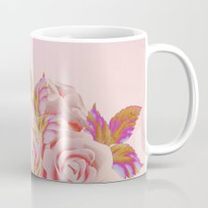 composition florale en rose Mug