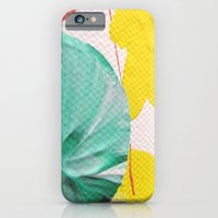 Acryl colored dots iPhone 6 Slim Case