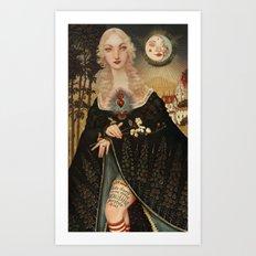 Fairytales and Tattoos  Art Print