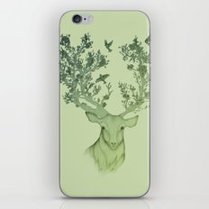 The Natural Progression? 1 of 3 in Green iPhone & iPod Skin