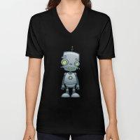 Silly Robot Unisex V-Neck