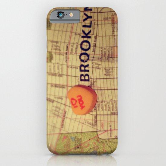 I Love You Brooklyn iPhone & iPod Case