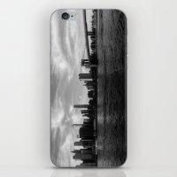 New York Skyline - Black… iPhone & iPod Skin