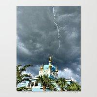 Lightening Strikes Canvas Print