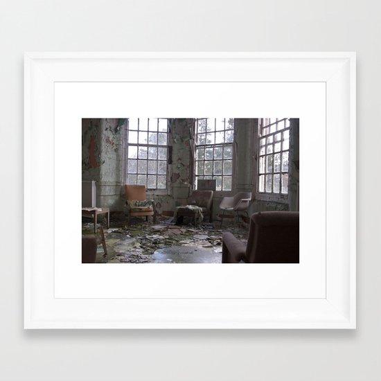 I see through you Framed Art Print