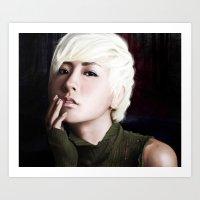 Chanmi Art Print