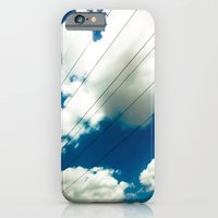 iPhone & iPod Case featuring Lines and The Blue Sky by Mauricio Santana