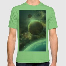 Welcome to the Space Mens Fitted Tee Grass SMALL