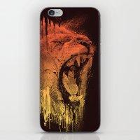 FIERCE LION iPhone & iPod Skin