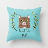 Lil Bub Throw Pillow
