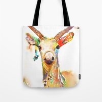 Deer (H)art Tote Bag