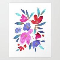 LeiLani Flower Art Print