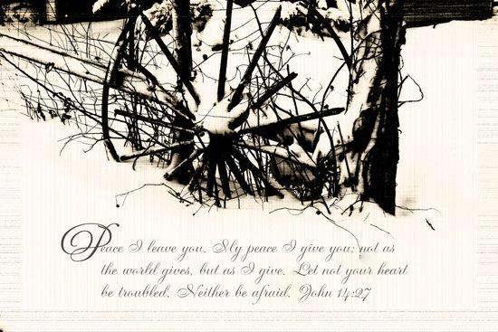 Peaceful Wheel Art Print