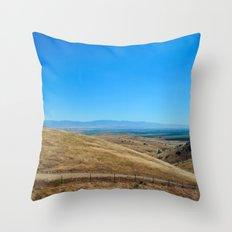 Long way round Throw Pillow