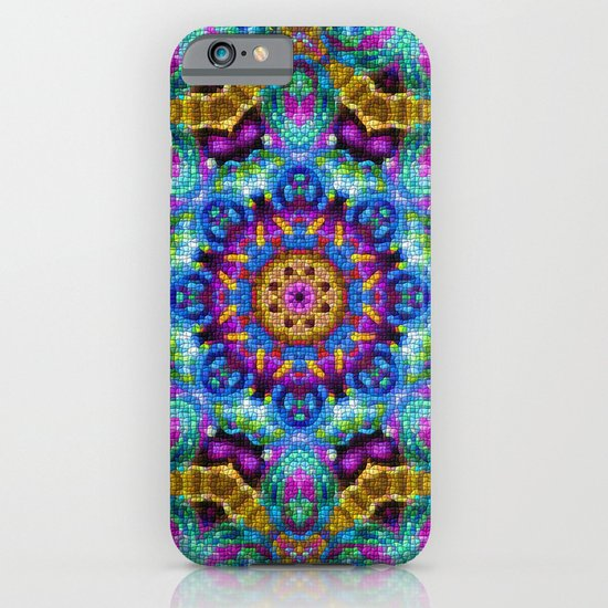 Colorful Mosaic Mandala iPhone & iPod Case