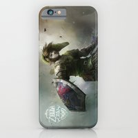 iPhone & iPod Case featuring legend of zelda 25th anniversary  by Tyler Edlin Art