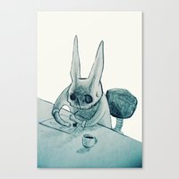 Another Bunny Canvas Print
