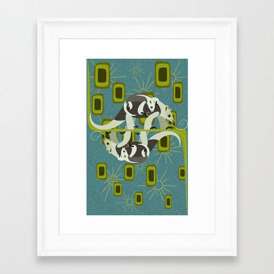 Tamanduas Framed Art Print