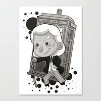 1st Doctor Canvas Print