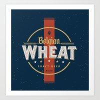 Belgian Brew  Art Print