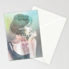 Walks in Beauty Stationery Cards