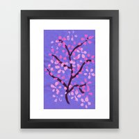 Cherry Blossom Tree Framed Art Print