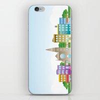Park Slope Skyline (Colo… iPhone & iPod Skin