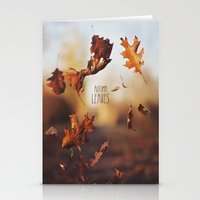 Autumn Leaves As Quickly… Stationery Cards