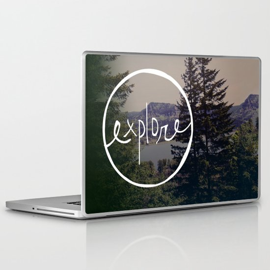 Explore Oregon Laptop & iPad Skin