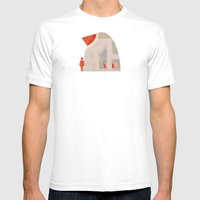 Opportunity Knocks Mens Fitted Tee White SMALL