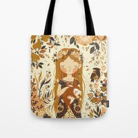 The Queen Of Pentacles Tote Bag