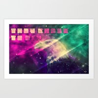 They chose to fly Art Print