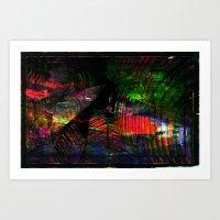 Dark Rainbow Art Print