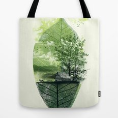 Live in Nature Tote Bag