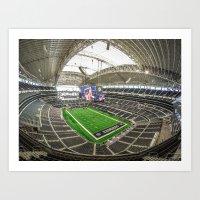 AT&T Stadium Art Print