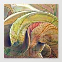 Twist of Color Canvas Print