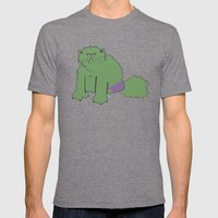 The Incatable Hulk Mens Fitted Tee Tri-Grey SMALL