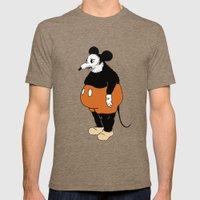 Mickey Da Rat Mens Fitted Tee Tri-Coffee SMALL