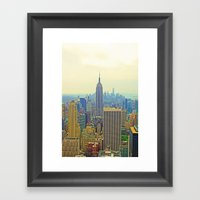 Empire State Of Mind Framed Art Print