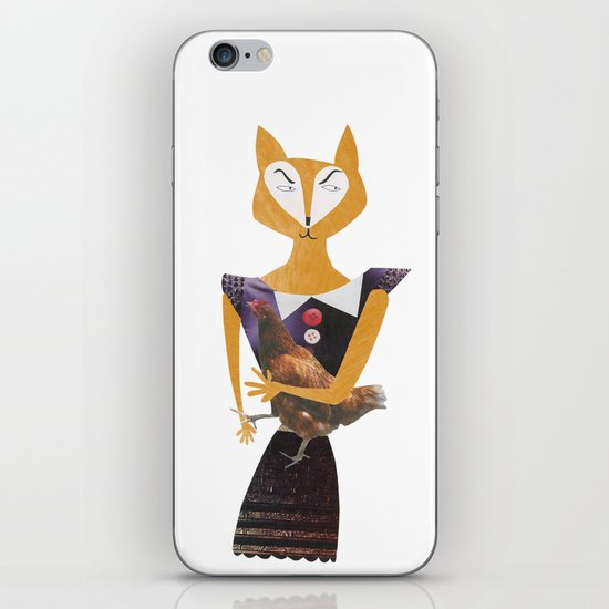 Miss sneaky iPhone & iPod Skin